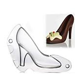 3d высокой пятки обуви плесень шоколад конфеты украшения желе торт плесень ребенка ручной работы