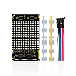 cheap -LED Dot Matrix Display Module 16 * 16 Unlimited Cascading / 12864 Compatible Interfaces for Arduino