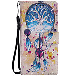 cheap -Case For Sony Xperia XZ Xperia XA1 Card Holder Wallet with Stand Flip Pattern Full Body Dream Catcher Hard PU Leather for Sony Xperia XZ