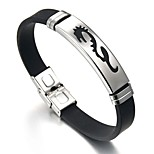 cheap -Men's Link Bracelet , Vintage Ethnic Stainless Steel Leather , Jewelry Daily Formal