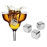 Недорогие -Другие акссесуары Нержавеющая сталь,Вино Аксессуары Высокое качество творческийforBarware 2.6*2.*2.6 0.03