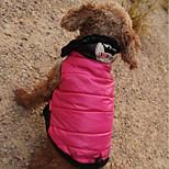 Недорогие -Кошка Собака Плащи Толстовки Комбинезоны Одежда для собак На каждый день Водонепроницаемый Сохраняет тепло Спорт С принтом Тиары и короны