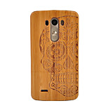 cheap -Case For LG G3 Shockproof Back Cover Skull Hard Bamboo for LG G3