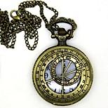 Недорогие -Часы Вдохновлен Воин Conner Аниме Косплэй аксессуары 1 ожерелье Часы Броши