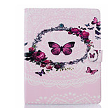 cheap -Case For Apple iPad Air 2 iPad mini 4 Card Holder Wallet with Stand Full Body Butterfly Hard PU Leather for iPad Pro 9.7'' iPad Air 2