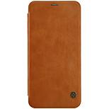 Недорогие -Кейс для Назначение OnePlus 5 OnePlus 5T Бумажник для карт Флип Авто Режим сна / Пробуждение Чехол Сплошной цвет Твердый Искусственная