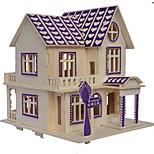 Недорогие -Деревянные пазлы Модель дерева Наборы для моделирования Игрушки Новинки Фокусная игрушка Странные игрушки Взаимодействие родителей и детей