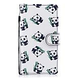 cheap -Case For Huawei P8 Lite (2017) P10 Lite Card Holder Wallet with Stand Flip Pattern Full Body Panda Hard PU Leather for P10 Lite P8 Lite