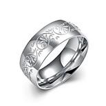 Недорогие -Муж. Классические кольца , Простой Позолота Круглый Бижутерия Повседневные