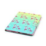 Кейс для Назначение Apple iPad Air 2 iPad mini 4 Бумажник для карт Кошелек со стендом Чехол Фламинго Твердый Искусственная кожа для iPad