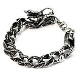 cheap -Men's Chain Bracelet , Asian Vintage Ethnic Alloy Dragon Jewelry Daily Festival