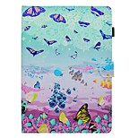 cheap -Case For Apple iPad 10.5 iPad (2017) Card Holder with Stand Flip Pattern Full Body Butterfly Hard PU Leather for iPad Pro 10.5 (2017)