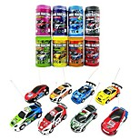 cheap -Multicolor Coke Can Mini Speed RC Radio Remote Control Micro Racing Car Toy Gift