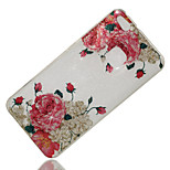 cheap -Case For Huawei P8 Lite (2017) P10 Lite IMD Pattern Back Cover Flower Glitter Shine Soft TPU for P10 Lite P8 Lite (2017) Huawei Y6