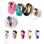Недорогие -стразы другие разноцветные дизайн ногтей