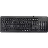 A4TECH WK-100 Wired Keyboard Spill-Resistant USB 104 Keys