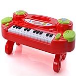 Недорогие -Игрушечные инструменты Электронная клавиатура Игрушки Веселье Прямоугольный Музыкальные ноты Куски Детские Подарок