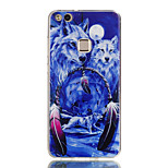 cheap -Case For Huawei P8 Lite (2017) P10 Lite Ultra-thin Pattern Back Cover Animal Soft TPU for P10 Lite P10 P9 Lite P8 Lite P8 Lite (2017)