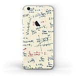Недорогие -1 ед. Наклейки для Защита от царапин Узор PVC iPhone 6s Plus/6 Plus