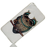 cheap -Case For Huawei P8 Lite (2017) P10 Lite IMD Pattern Back Cover Glitter Shine Owl Soft TPU for P10 Lite P8 Lite (2017) Huawei Y6
