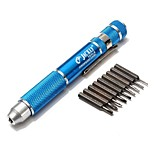 cheap -10 in 1 Precision Screwdriver Bits Set for Mobile Phone Laptop Computer Repair Tools Kit Hex Phillips Slotted