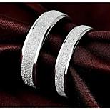 Недорогие -Муж. Жен. Кольца для пар Классические кольца , Простой Сердце Серебрянное покрытие Сплав , Бижутерия Обручение