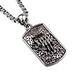 Men's Pendant Necklaces Chain Necklaces Alloy Pendant Necklaces Chain Necklaces , Rock Hiphop Holiday Date