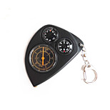 abordables -Compas/boussole Avec une Chaîne de clé Plaqué or Directionnel Etanche Camping / Randonnée / Spéléologie Camping & Randonnée Trekking ABS