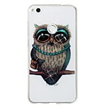 cheap -Case For Huawei P8 Lite (2017) P10 Lite IMD Pattern Back Cover Glitter Shine Owl Soft TPU for P10 Lite P8 Lite (2017)