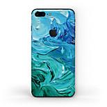 Недорогие -1 ед. Наклейки для Защита от царапин Узор PVC iPhone 7 Plus