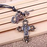 Недорогие -Муж. Крест Ножницы На каждый день Мода Ожерелья с подвесками , Сплав Ожерелья с подвесками , На выход
