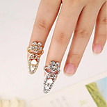 cheap -Ornaments Metallic Flower Silver Gold Rings
