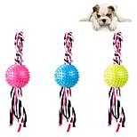 Недорогие -Собака Игрушка для собак Игрушки для животных Интерактивные игрушки Милый стиль Очень свободное облегание Хлопок Для домашних животных