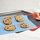 Недорогие -Маты и вкладыши для выпечки Прямоугольный Повседневное использование Многофункциональный Для приготовления пищи Посуда силикагель