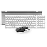 Недорогие -лук hw193 мембранная клавиатура офисная мышь беспроводная 1200 мышь точек на дюйм литиевая батарея портативный