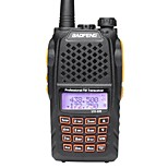 BaoFeng UV6R VHF 136-174MHz UHF 400-520MHZ Dual-Band HAM FM Two-Way Radio Walkie Talkies  Professional CB radio Dual Frequency 128CH LCD display Wirel
