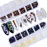cheap -Fashionable Jewelry Luxury Jeweled Rhinestones Nail Jewelry Nail Glitter As Picture 0.024kg/box Nail Art Decoration