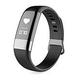 cheap -Smart Bracelet Waterproof Pedometers Exercise Record Passometer Message Reminder Call Reminder Calorie Counters Camera Control Pedometer