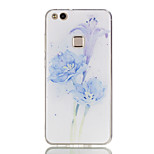 cheap -Case For Huawei P8 Lite (2017) P10 Lite Ultra-thin Pattern Back Cover Flower Soft TPU for P10 Lite P10 P9 Lite P8 Lite P8 Lite (2017)