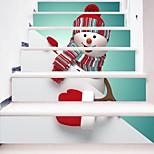 Недорогие -Рождество 3D Наклейки Корпус Простые наклейки 3D наклейки Декоративные наклейки на стены Свадебные наклейки,Бумага Винил Украшение дома