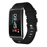 Smart Bracelet Bluetooth Multi-function Water Resistant Touch Sensor APP Control Pulse Tracker Pedometer Activity Tracker Sleep Tracker