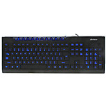 A4TECH WK-300 Wired Membrane Keyboard USB 104 Keys Backlit with 150cm Cable