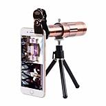 Недорогие -объектив с мобильным телефоном с длинными фокусными линзами алюминиевый сплав 20x макрос 20 5 75 высокая четкость
