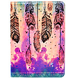 Case For Apple iPad Air 2 iPad 10.5 iPad mini 4 iPad (2017) with Stand Pattern Auto Sleep/Wake Up Full Body Dream Catcher Hard PU Leather