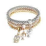 cheap -Men's Women's Wrap Bracelet Rhinestone Classic Fashion Imitation Diamond Alloy Skull Jewelry Daily