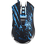 Chasing Panther V13 Wired USB Interface Game Mouse 6 Button Adjustable DPI