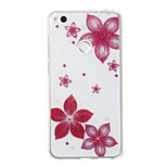 cheap -Case For Huawei P8 Lite (2017) P10 Lite IMD Pattern Back Cover Flower Glitter Shine Soft TPU for P10 Lite P8 Lite (2017)