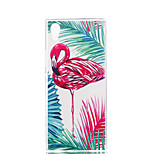 cheap -Case For Sony Xperia XZ1 Xperia XA1 Ultra-thin Pattern Back Cover Flamingo Soft TPU for Xperia XZ1 Compact Sony Xperia XZ1 Sony Xperia