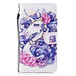 cheap -Case For Huawei P8 Lite (2017) P10 Lite Card Holder Wallet with Stand Flip Pattern Full Body Unicorn Hard PU Leather for P10 Lite P8 Lite