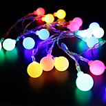 cheap -BRELONG Waterproof 28 LEDs 2M String Light RGB+White Decorative EU Plug